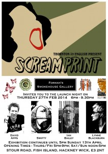 Scream Print flyer